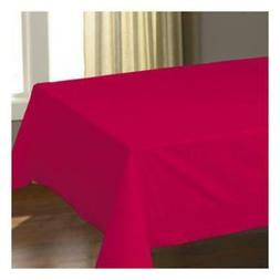 Hoffmaster Tissue/Poly Red Tablecover, 54 x 108 inch -- 25 p