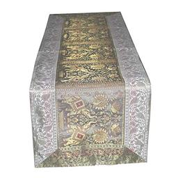 FashionShopmart Traditional Silk Table Runner/Decorative Sil