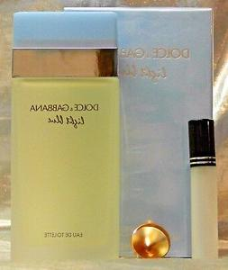 travel size dolce and gabbana light blue