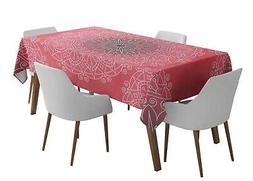 Timingila Tribal Outdoor Dining Table Cover Table Cloths