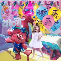 Troll Trolls Party Balloons Banner Cupcake toppers Birthday