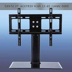 Universal Tabletop TV Stand Pedestal Base Wall Mount for 26-