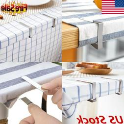 US Adjustable Stainless Table Cloth Clips For Jumbo Table Co