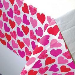 2 x Valentines Day Key To Your Heart Patterned Paper Party T