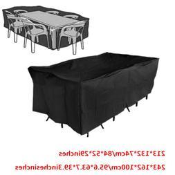 Veranda Patio Set Cover Table & Chair Outdoor Garden Furnitu