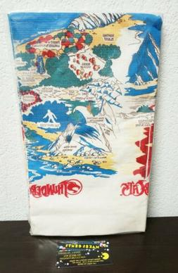 vintage 1980s thundercats artfaire apron table cover
