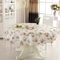 Waterproof & Oilproof Wipe Clean PVC Vinyl Tablecloth <font>