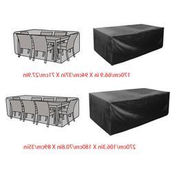 Waterproof Garden Patio Furniture Covers Rectangle Outdoor T
