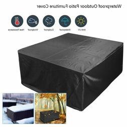 Waterproof Indoor/Outdoor Patio Furniture Cover Square Garde