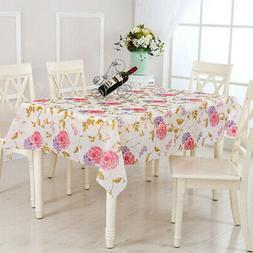 Waterproof Oil Proof Table Cloth Dining Table Kitchen Cover