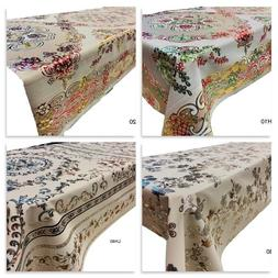 Waterproof Plastic PVC Tablecloth High Quality Laser Dining