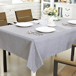 OstepDecor Waterproof Tablecloth 100% Polyester Decorative T