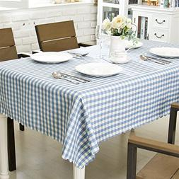 OstepDecor Waterproof Tablecloth 100% Polyester Indoor/Outdo