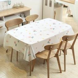 Waterproof Tablecloth Table Covers Protector For Kitchen Din