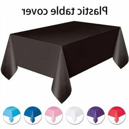 Wedding Supplies Party Decoration Rectangle Tablecloth Dispo