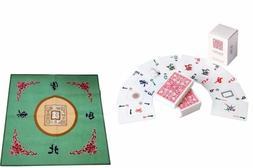 Western Mahjong Table Cover Mah jongg Mahjongg Mat Green /Ma