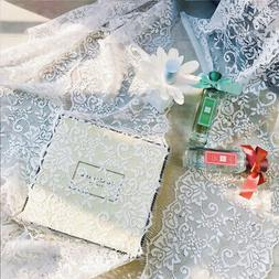 White Lace Table Cover Elegant  for Wedding Decoration Acces