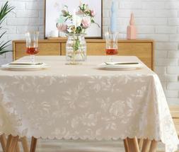 Wipe Clean Oil-Proof Waterproof PVC Table Cover Cloth Tea Ho