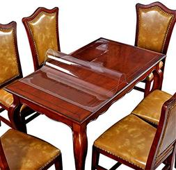 Wooden Furniture Protector Table Cover Clear Plastic Vinyl T