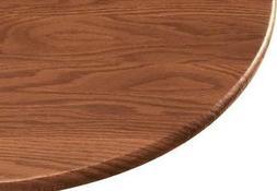 Wood Grain Vinyl Elastic Table Cover