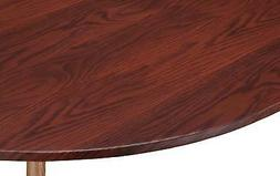 Wood Grain Vinyl Elasticized Table Cover