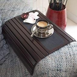Couch arm Table Sofa Arm Tray. Flexible/Foldable Coaster Cou